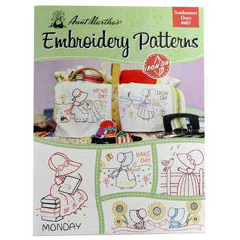 Sunbonnet Says Iron-On Embroidery Patterns